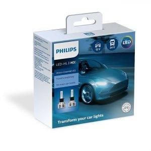 Philips Λάμπες 12/24V H3 Ultinon Essential LED